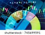 data analyzing in forex ... | Shutterstock . vector #745699591