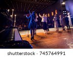 concert | Shutterstock . vector #745764991