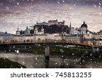salzburg  austria   december 25 ...   Shutterstock . vector #745813255
