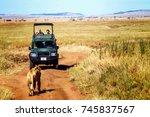 africa  tanzania   serengeti... | Shutterstock . vector #745837567