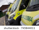 Small photo of Emergency Ambulance Stationary