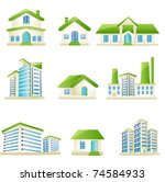 illustration of set of... | Shutterstock .eps vector #74584933
