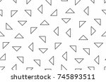 subtle geometric background | Shutterstock .eps vector #745893511