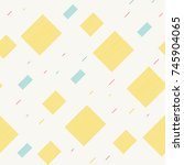 seamless pattern with... | Shutterstock .eps vector #745904065