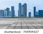 cityscape and skyline of... | Shutterstock . vector #745909327