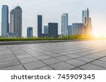 cityscape and skyline of...   Shutterstock . vector #745909345