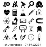 vector illustration of a... | Shutterstock .eps vector #745912234