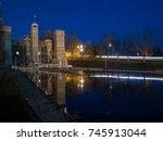 peterborough liftlocks trent... | Shutterstock . vector #745913044