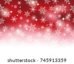 a seamless snow background ... | Shutterstock .eps vector #745913359