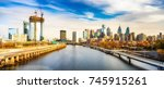 panoramic picture of... | Shutterstock . vector #745915261