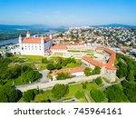 bratislava castle or...   Shutterstock . vector #745964161