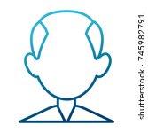 man faceless avatar | Shutterstock .eps vector #745982791