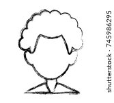 man faceless avatar | Shutterstock .eps vector #745986295