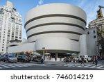 new york  usa   oct 6  2017  ... | Shutterstock . vector #746014219
