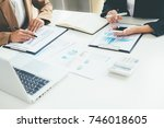 business concept. business... | Shutterstock . vector #746018605