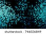 light blue vector red pattern... | Shutterstock .eps vector #746026849