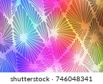 light multicolor  rainbow... | Shutterstock .eps vector #746048341