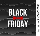abstract vector black friday... | Shutterstock .eps vector #746050741