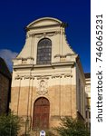 Small photo of 13 July 2011: Vannes, Brittany, France - The 17th century Chapelle des Ursulines, Vannes, Brittany, France.