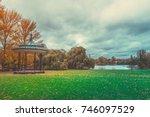 autumn color of regents park in ...   Shutterstock . vector #746097529