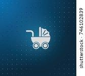 pram icon.   Shutterstock .eps vector #746102839