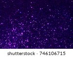 purple glitter texture... | Shutterstock . vector #746106715