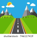 advertising photos   flat... | Shutterstock .eps vector #746117419