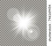 White Lens Flare Effect....