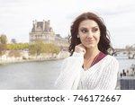 street fashion concept.... | Shutterstock . vector #746172667