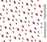 abstract background of red... | Shutterstock . vector #746219185