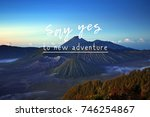 life and travel inspirational... | Shutterstock . vector #746254867