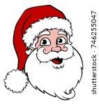 Santa Claus Cartoon Character...