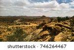 cave paintings laas geel rock... | Shutterstock . vector #746264467