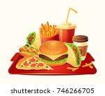 cartoon illustration of a... | Shutterstock . vector #746266705