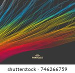 colorful background in the... | Shutterstock .eps vector #746266759