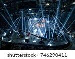 saint petersburg  russia  ...   Shutterstock . vector #746290411