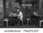 chinatown bangkok thailand 30... | Shutterstock . vector #746291107
