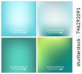 abstract creative concept... | Shutterstock .eps vector #746292091