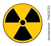 illustration of a nuclear alert ... | Shutterstock . vector #74629222