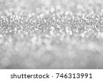 abstract background of silver... | Shutterstock . vector #746313991