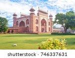 The Great Gate To Taj Mahal In...