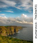 cliffs of moher   county clare  ... | Shutterstock . vector #746346931