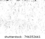 weathered concrete wall. rustic ... | Shutterstock . vector #746352661