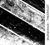 grunge old wood black cover... | Shutterstock .eps vector #746354137