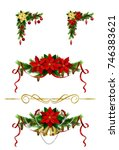 christmas elements for your... | Shutterstock .eps vector #746383621