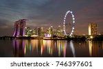 singapore   oct 24th 2017 ... | Shutterstock . vector #746397601