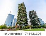 milan  italy   september 29 ... | Shutterstock . vector #746421109