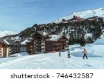 march 01 2012  les arcs  france ... | Shutterstock . vector #746432587
