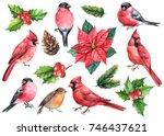 Winter Watercolor Set Of...
