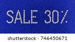 Word Sale Is Made Rhinestones...
